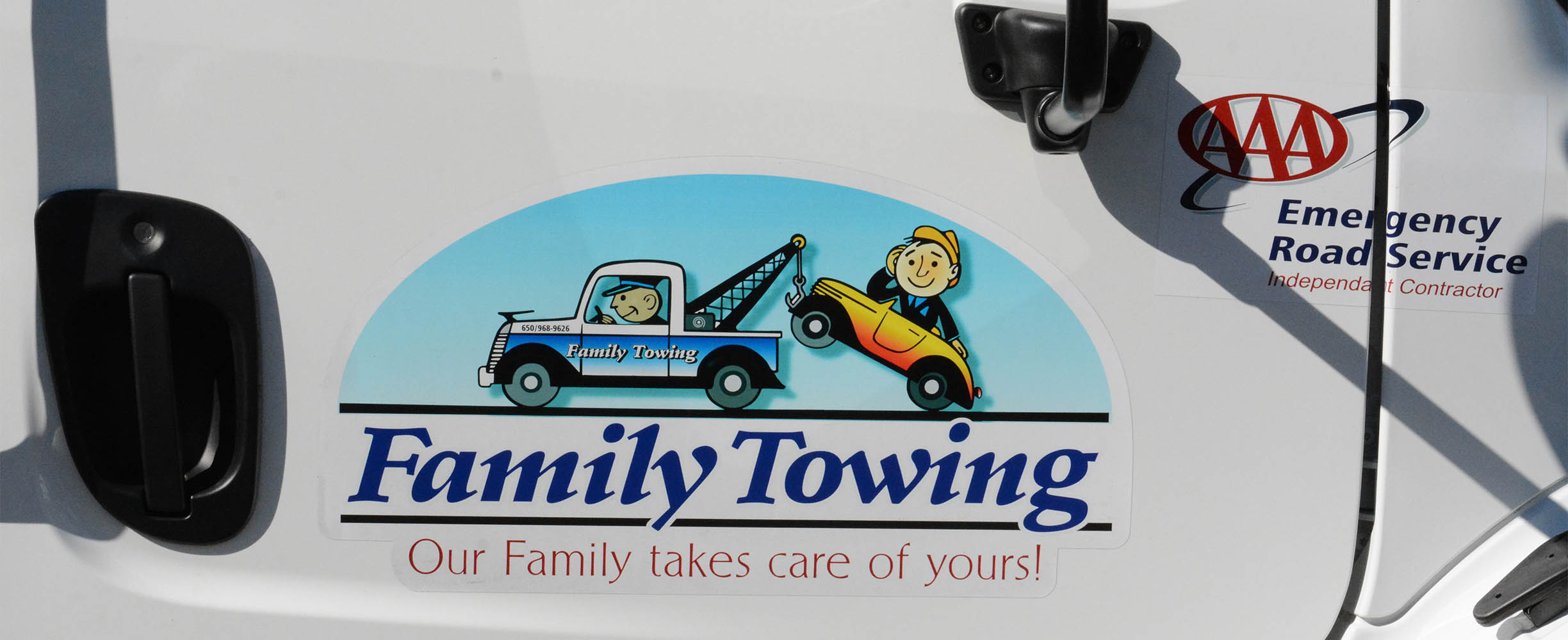 Family Towing is a famiy owned company offering all types of towing and transpotation services in Moumntain Viewe and the San Francisco Peninsula